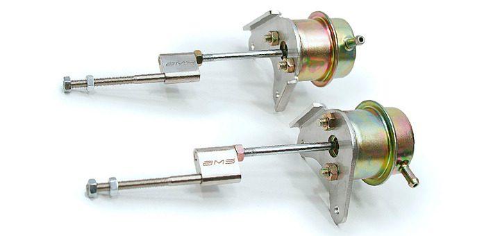 Actuator mecanic vacuum turbosuflanta