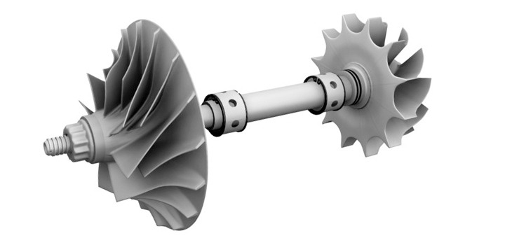 Ansamblu rotativ turbosuflanta