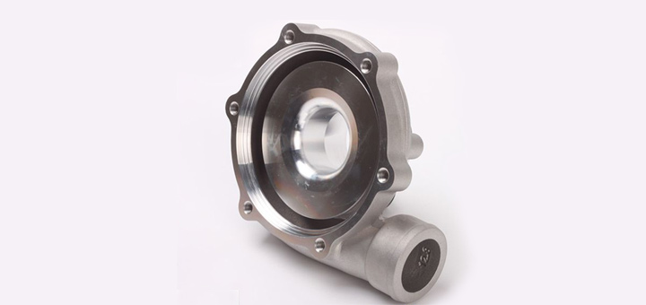 Flansa turbosuflanta din aluminiu